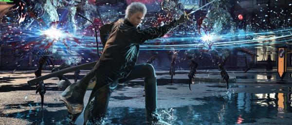 Capcom представила боевую композицию Вергилия из Devil May Cry V: Special Edition для PlayStation 5 и Xbox Series X