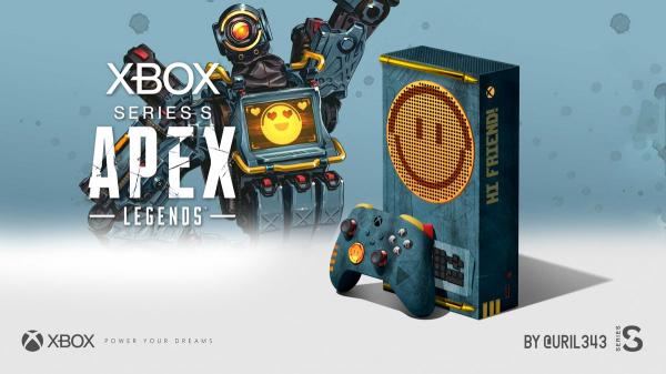Поклонники Xbox представили как будет выглядеть лимитированное издание Xbox Series S Apex Legend