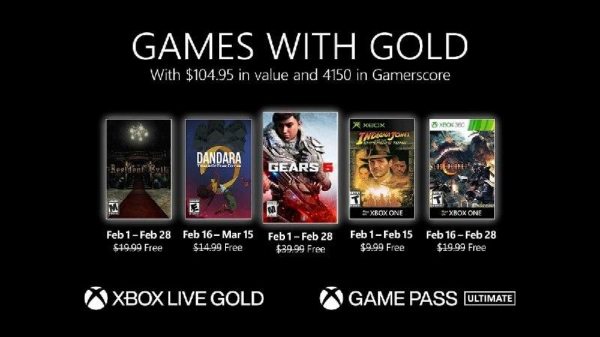 Игры для подписчиков Xbox Gold в феврале: Gears 5, Resident Evil Remake, Lost Planet 2, Indiana Jones and the Emperor's Tomb