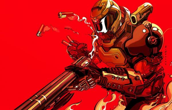 В сети были опубликованы изображения персонажей, которые должны были появиться в отменённом шутере DOOM 4.