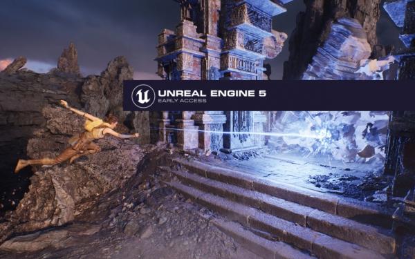 Разработчики Gears 5 показали технодемо Unreal Engine 5 для Xbox Series X